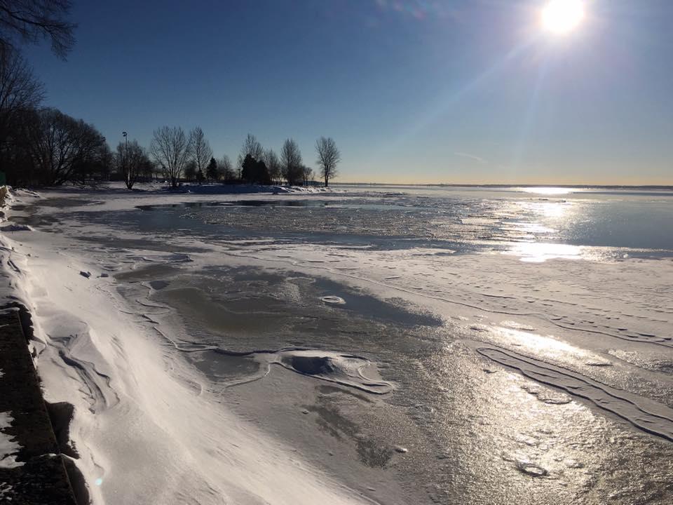 Lake in winter: Wise Women Canada